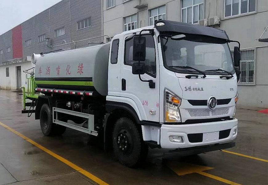 国六东风专底12吨D1洒水车图片