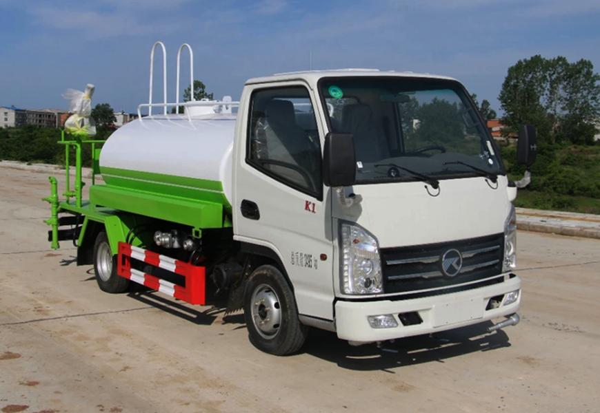 国六凯马1.3-3吨绿化洒水车(汽油机)