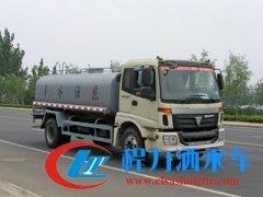 福田欧曼4.7米轴距15吨洒水